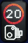 Vehicle Activated Sign